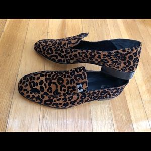 DVF Cheetah Print Loafers